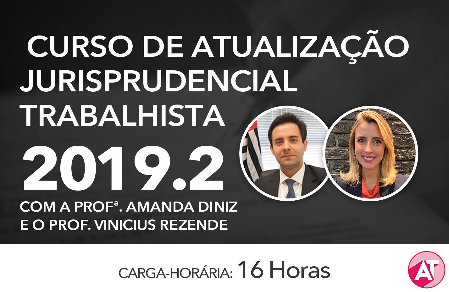ATUALIZAÇÃO JURISPRUDENCIAL TRABALHISTA ONLINE