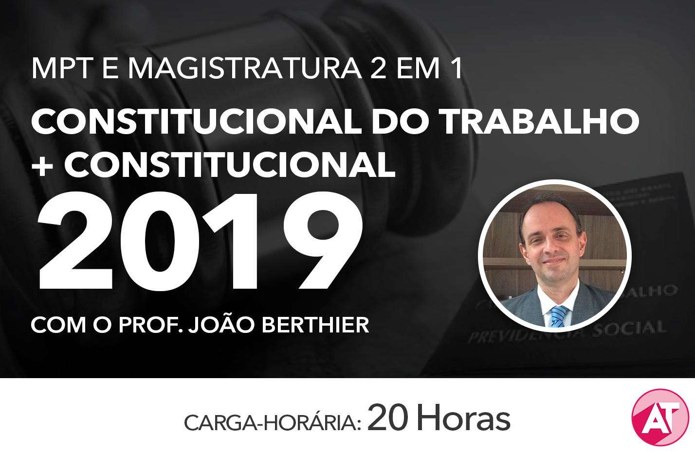 MÓDULO DE DIREITO CONSTITUCIONAL DO TRABALHO e DIREITO CONSTITUCIONAL - Online